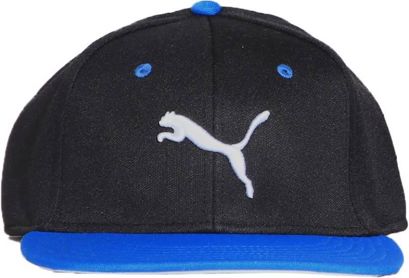 Puma Solid Regular Style Cap Cap - Buy Black abb858a2646