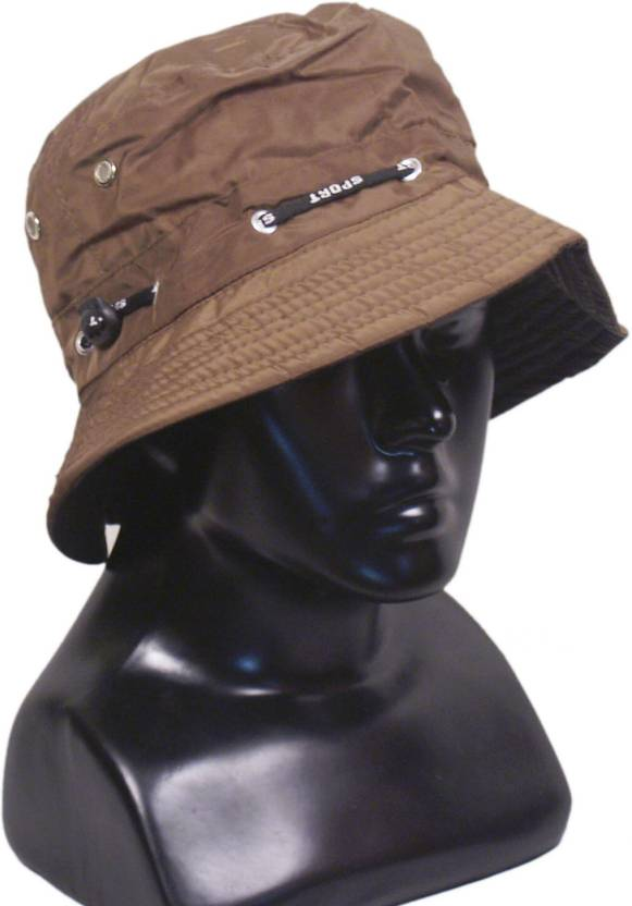 VR Designers Bucket Hat Cap - Buy Brown VR Designers Bucket Hat Cap Online  at Best Prices in India  40ab9a1138e