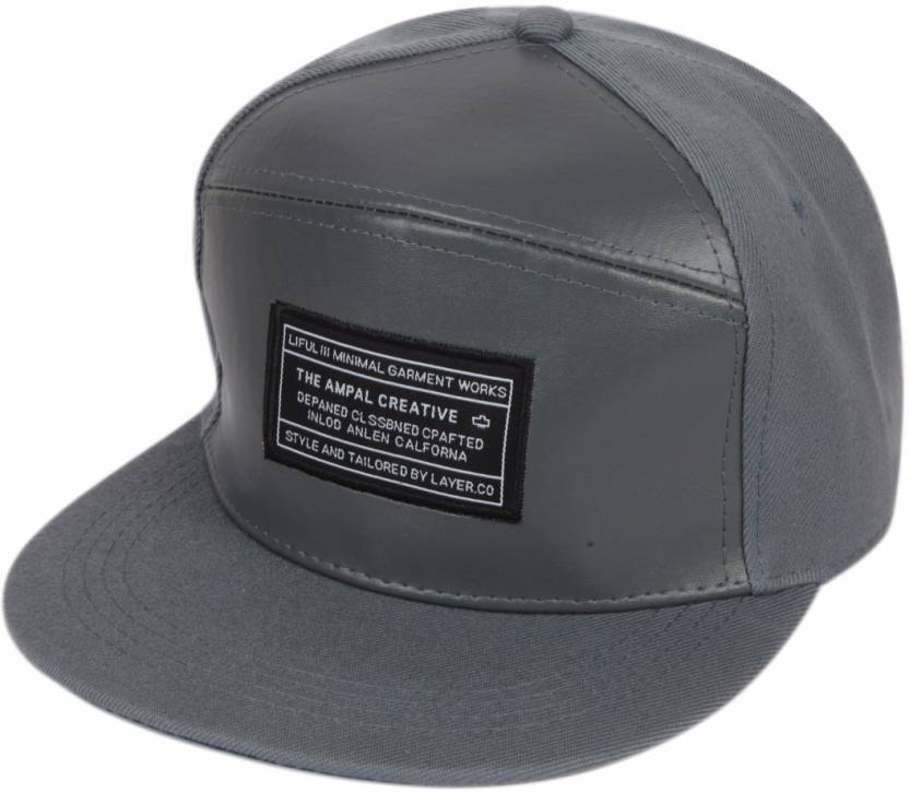 1e524bcc57e ILU caps grey leather
