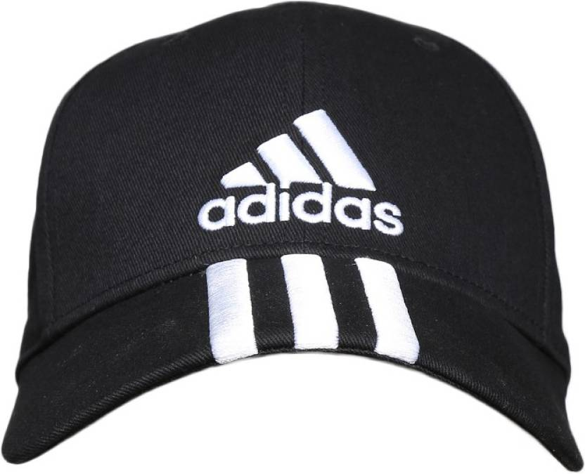 9a241537a51 ADIDAS Embroidered Sports Cap - Buy Black ADIDAS Embroidered Sports Cap  Online at Best Prices in India