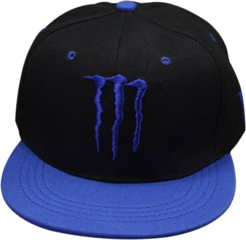 2e7863ac198 Nimble House Embroidered MONSTER ENERGY Cap - Buy Black Nimble House  Embroidered MONSTER ENERGY Cap Online at Best Prices in India