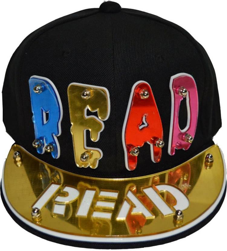 1c3057a4bfc Swagger 3D Solid Read 3d Hip Hop Cap - Buy Black