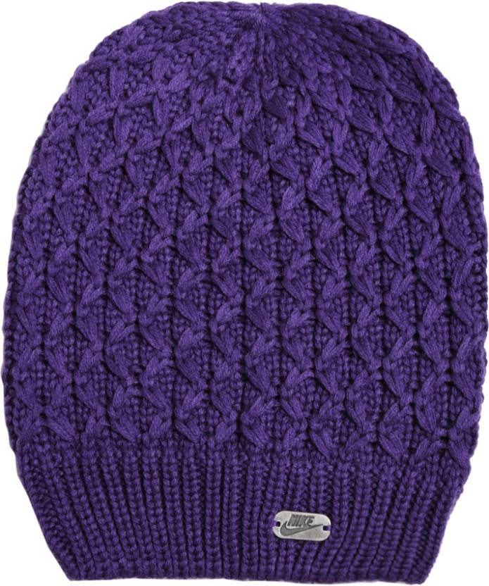 9f9491666fc Nike Nike Slouchy Beanie Woven Beanie Cap - Buy COURT PURPLE Nike Nike  Slouchy Beanie Woven Beanie Cap Online at Best Prices in India