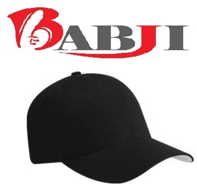 Babji Solid Black Hats For Sports Tennis Cool Trendy Cap - Buy Black Babji  Solid Black Hats For Sports Tennis Cool Trendy Cap Online at Best Prices in  India ... 4b647bff0e7