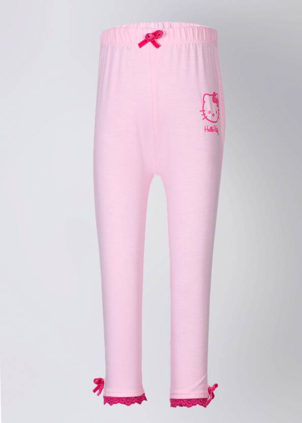 5072b6c0b Hello Kitty Capri For Girls Solid Cotton Price in India - Buy Hello ...