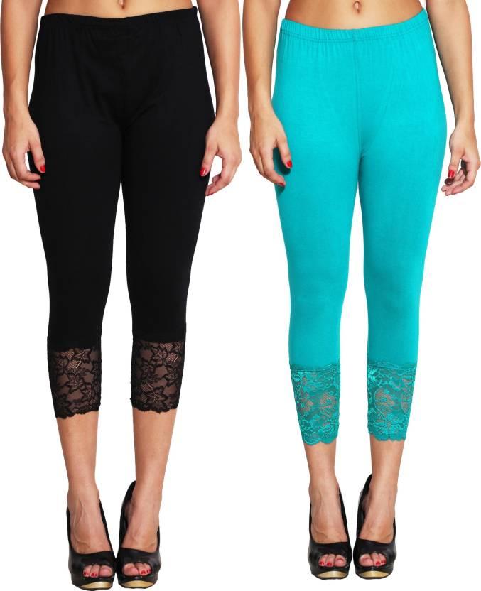 6f64bd1f4606b LGC Women's Black, Green Capri - Buy Black, Green LGC Women's Black, Green  Capri Online at Best Prices in India | Flipkart.com