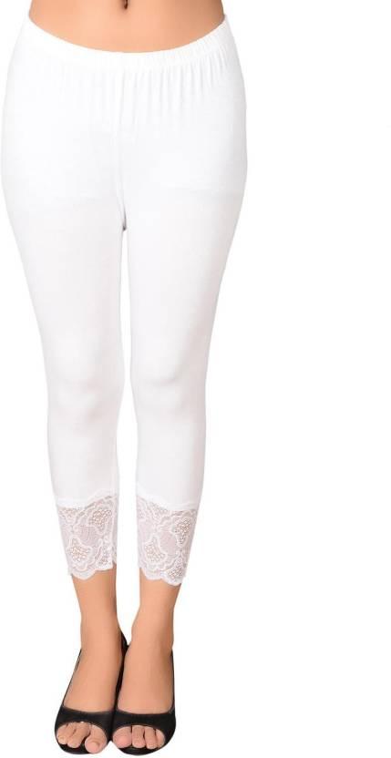 54a16018116ec LGC Fashion Women's White Capri - Buy White LGC Fashion Women's White Capri  Online at Best Prices in India | Flipkart.com