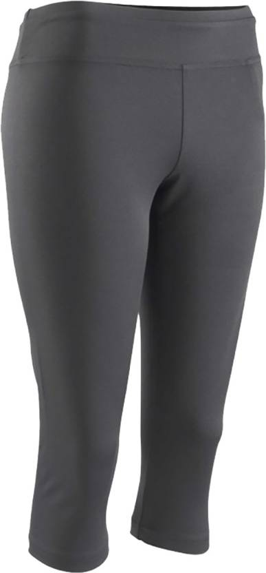 827525e8af229 Domyos by Decathlon Women's Black Capri - Buy Black Domyos by Decathlon  Women's Black Capri Online at Best Prices in India | Flipkart.com