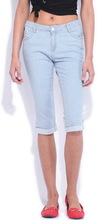 c5cc20dc84c Kraus Jeans Women s Light Blue Capri - Buy Ice Kraus Jeans Women s ...