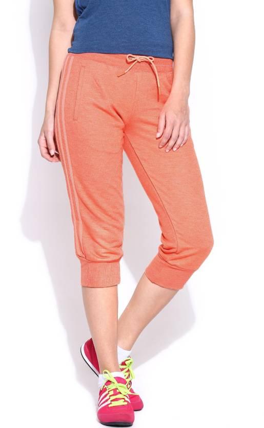 ADIDAS Women s Orange Capri - Buy Orange ADIDAS Women s Orange Capri Online  at Best Prices in India  0778d60809