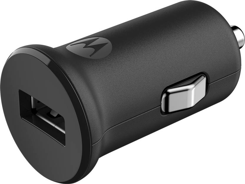 Motorola 1.2 amp Car Charger  (Black)