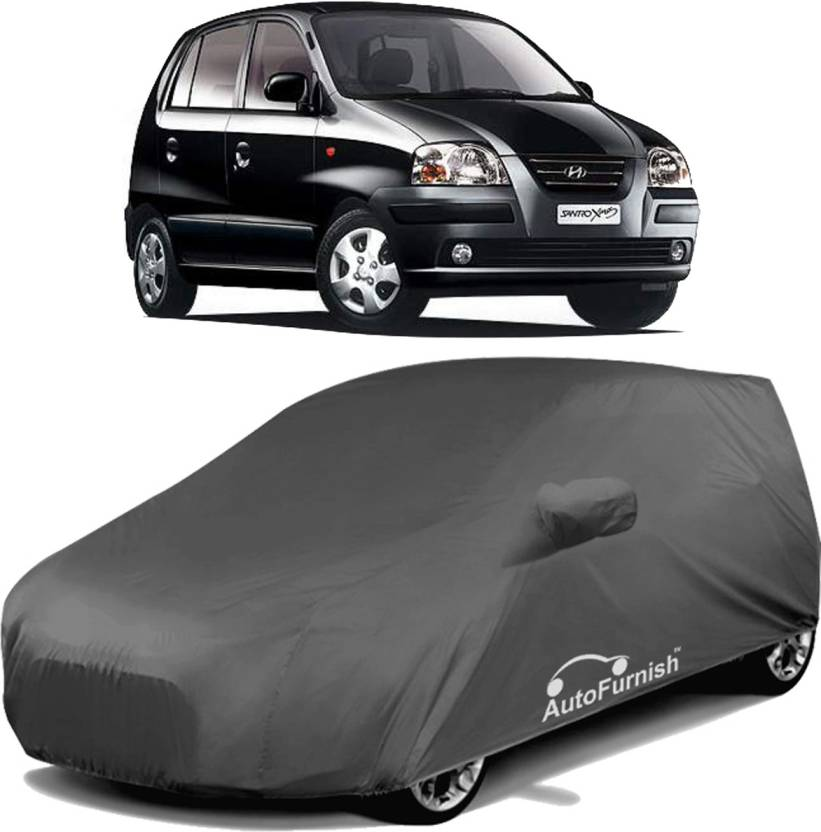 Autofurnish Car Cover For Hyundai Santro Xing With Mirror Pockets
