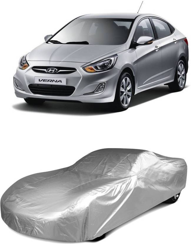 Next Zone Car Cover For Hyundai Verna Without Mirror Pockets