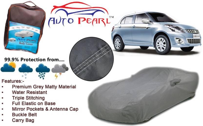 Auto Pearl Car Cover For Maruti Suzuki Swift Dzire (With Mirror Pockets)