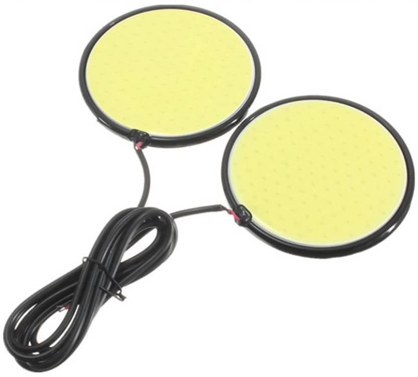 Accessoreez Waterproof Round Shape Car Fancy Lights