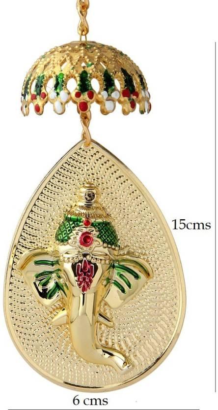 Itiha Ganesha Door/ Wall Hanging Decorative Showpiece - 8 cm Price ...