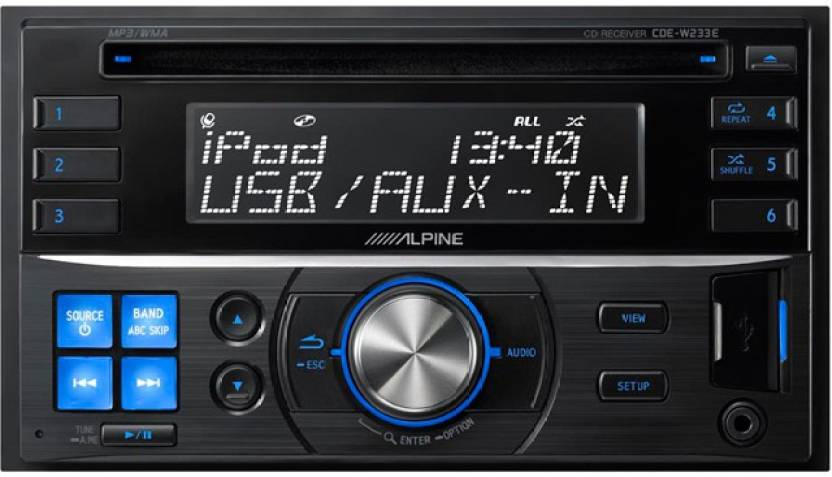 verschillende ontwerpen betrouwbare kwaliteit best leuk Alpine CDE-W233E Car Stereo Price in India - Buy Alpine CDE ...