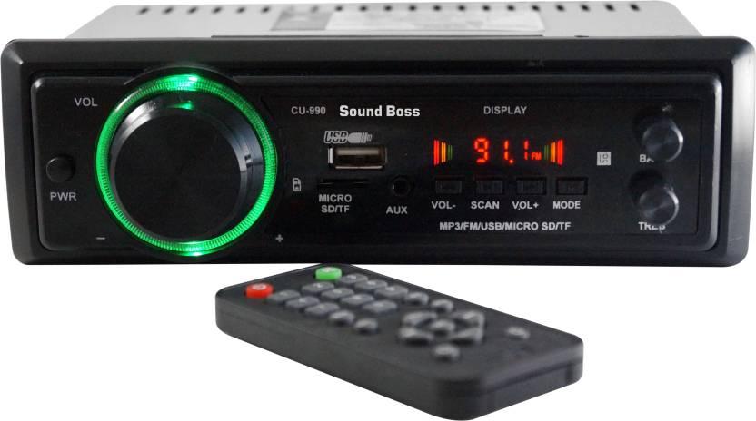 Sound Boss MP3/FM/USB/SD/AUX -SB-990 Car Stereo