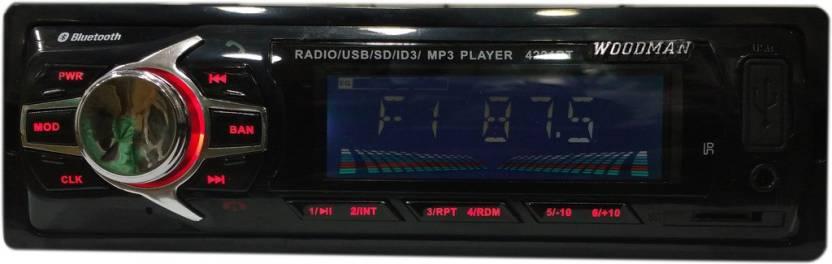 Woodman Single Din WM002 FM/USB/ Bluetooth WM-13 Car Stereo