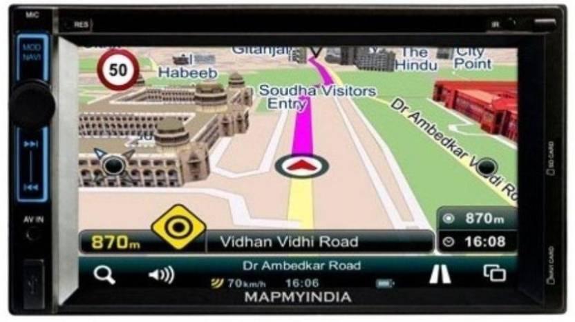 Mapmyindia Icenav 101 Audio Video Usb Sd Card No Cd And Navigation