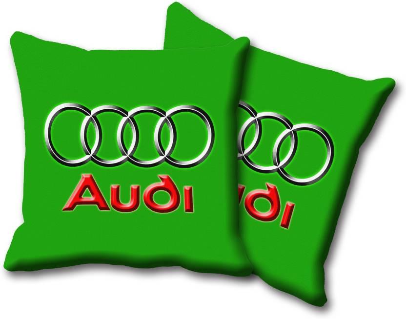 Dealsunshine Green, Red Silk Car Pillow Cushion for Audi