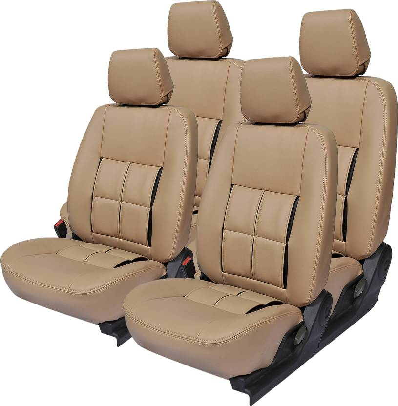 Magnificent Gaadikart Leatherette Car Seat Cover For Mahindra Scorpio Creativecarmelina Interior Chair Design Creativecarmelinacom