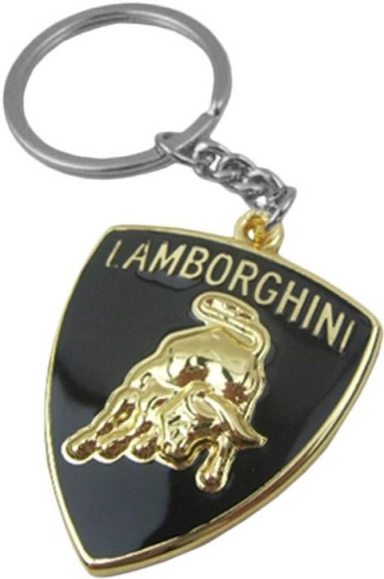 I Gadgets Lamborghini Logo Premium Metal Gld Key Chain Buy I