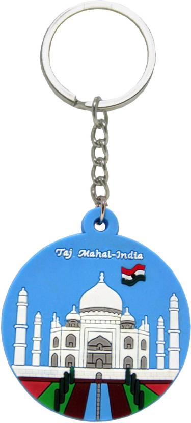 The Bombay Store Taj Mahal   India Flag Double Sided Key Chain - Buy ... d4d21476cd35