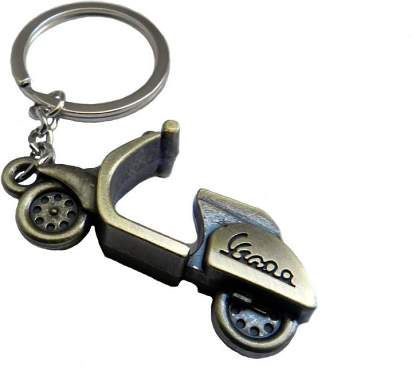 Techpro Vespa Metal Scooter Key Chain