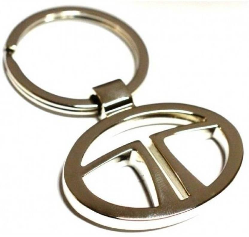 prime traders tata emblem car logo locking key chain buy prime