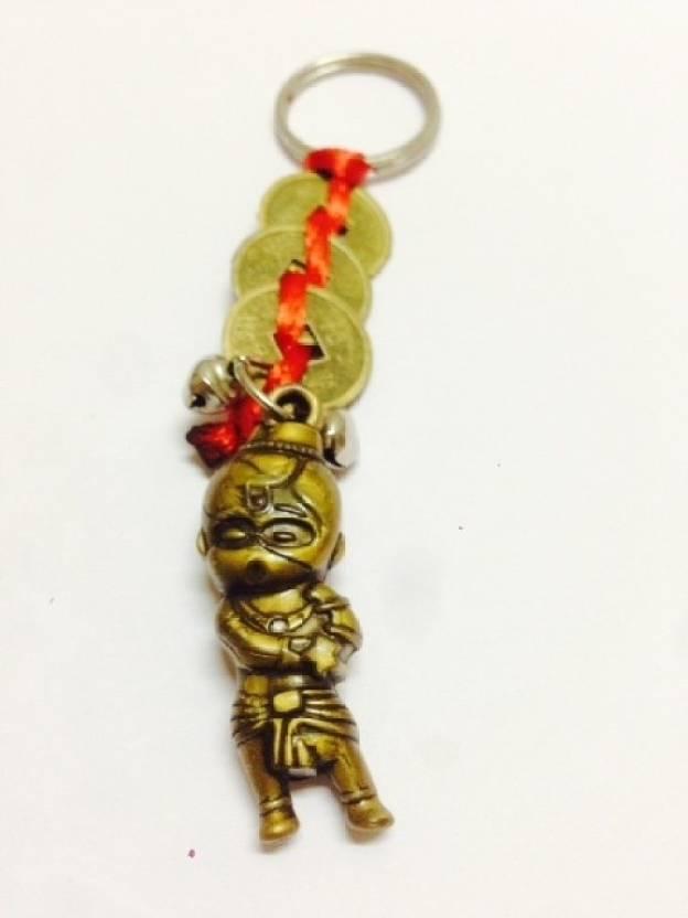 Aura Feng Shui Bal Hanuman Key Chain Buy Aura Feng Shui