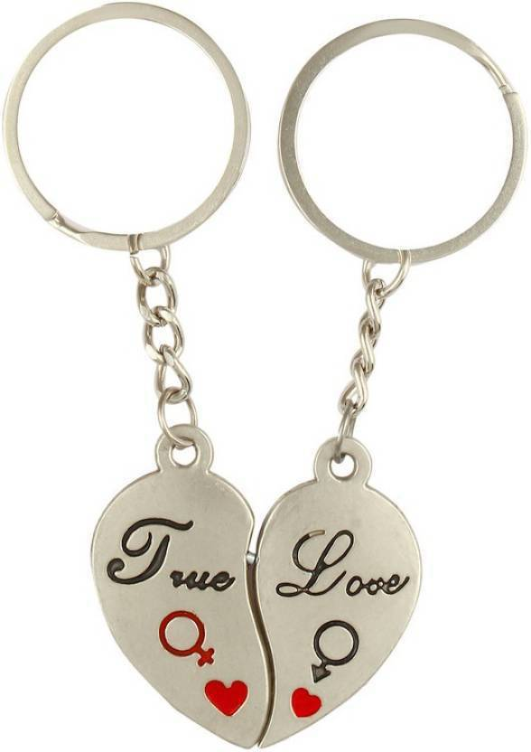 7f88c76f7f MGP Couple Heart Valentine Gift Metal Key Chain Key Chain - Buy MGP ...