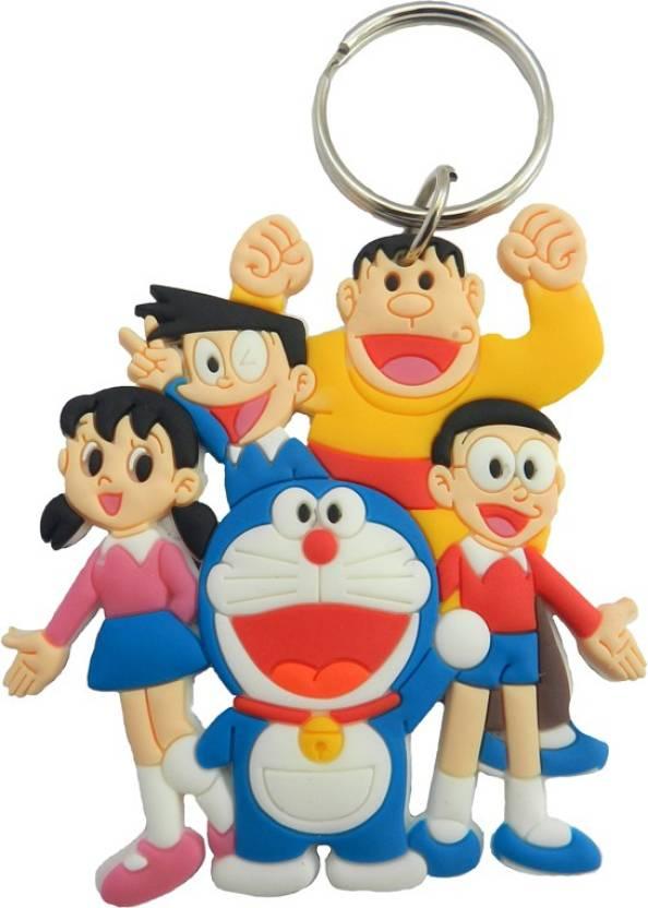 techpro doraemon family key chain buy techpro doraemon family key