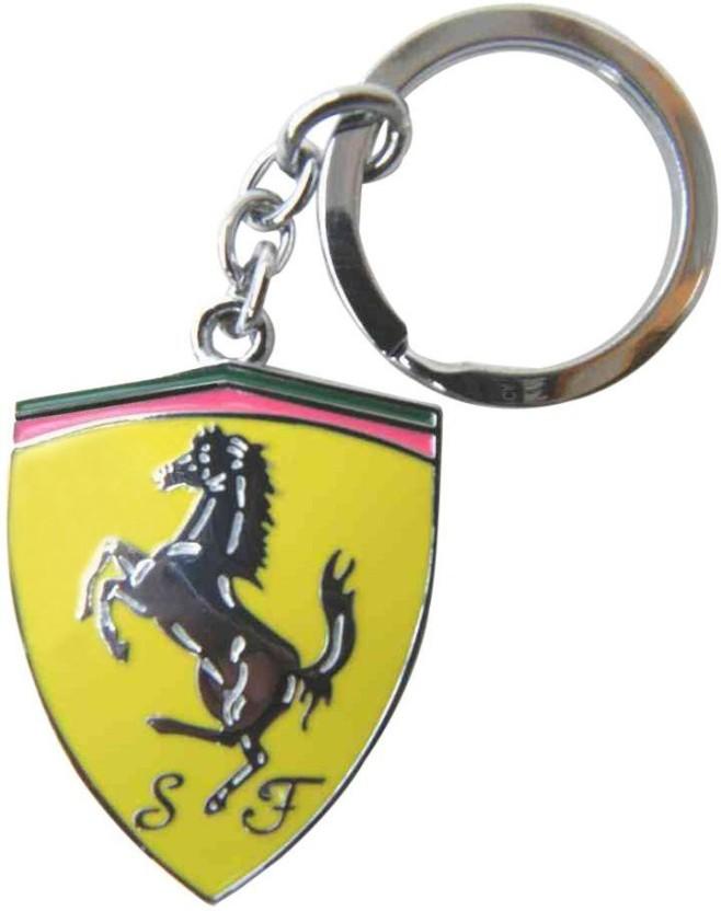 GCT Ferrari Logo Metal Key Chain