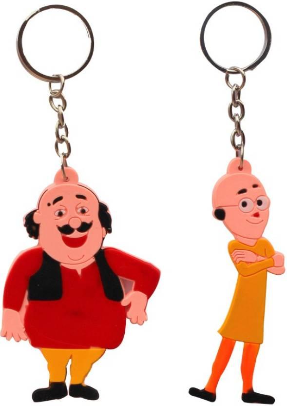 ctw motu patlu cartoon characters combo key chain buy ctw motu