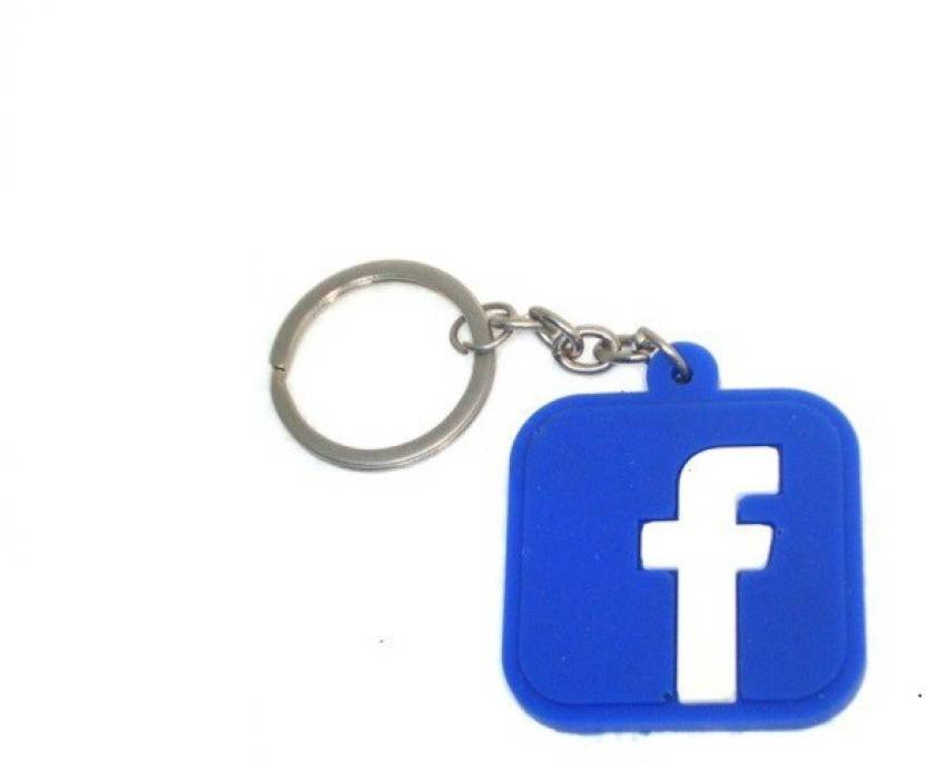 Ezone High Quality Facebook Logo Bent Gate Key Chain Price In India