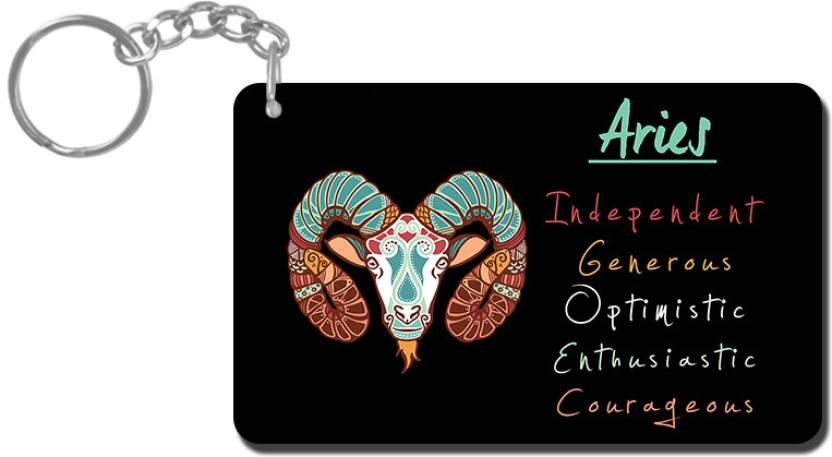 Lovely Collection Zodiac Sign Aries Key Chain - Buy Lovely