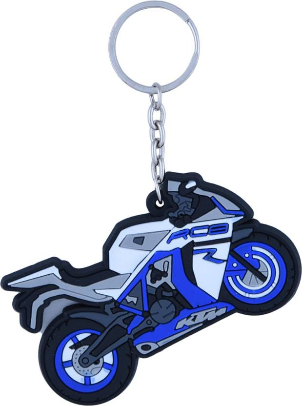zeroza ktm rc8 bike shape km20 key chain buy zeroza ktm rc8 bike