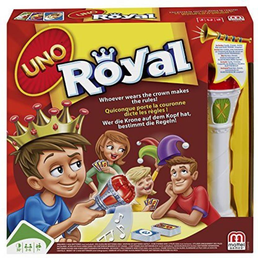Mattel Uno Royal Revenge - Uno Royal Revenge   shop for