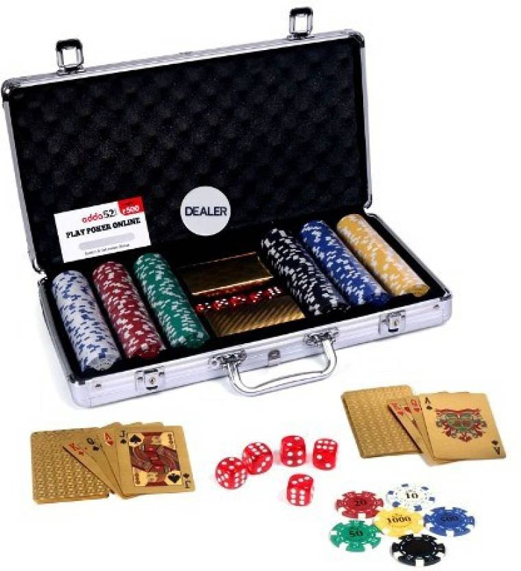Casinoite Gold Poker Chip Set 300