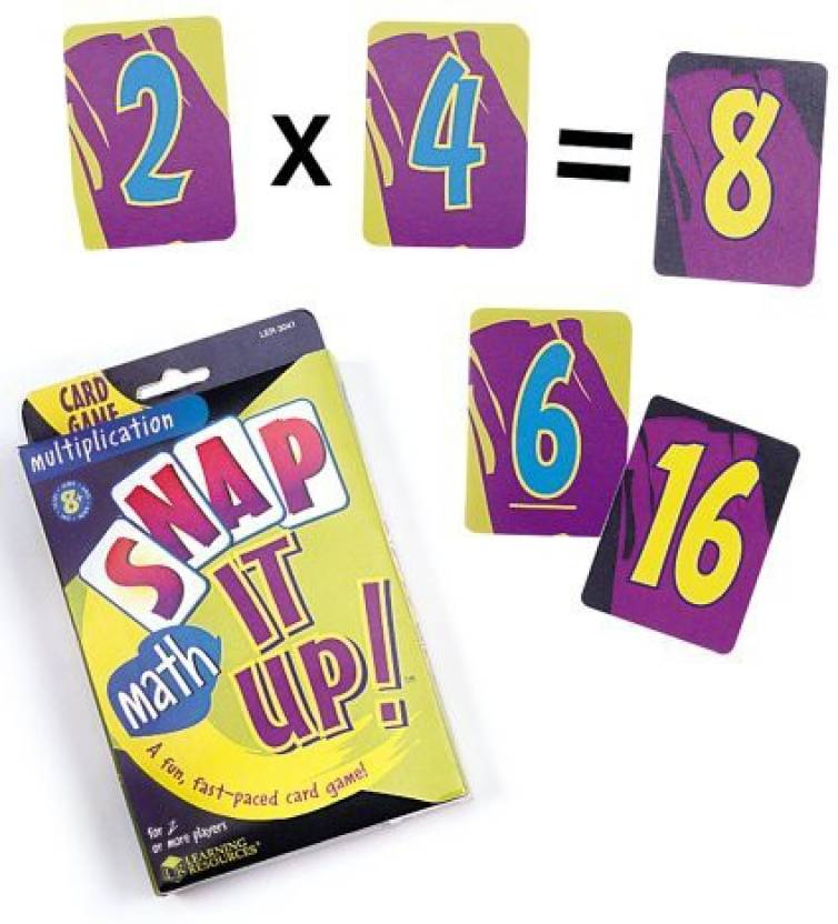 Get best deal for Learning Resources Snap It Up Math Multiplication(Multicolor) at Compare Hatke