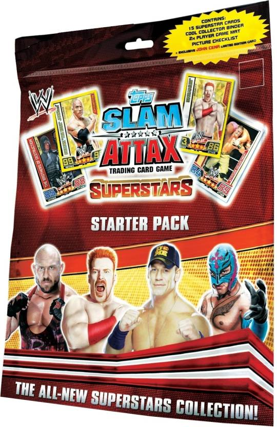 Topps WWE Slam Attax Superstars - Starter Pack