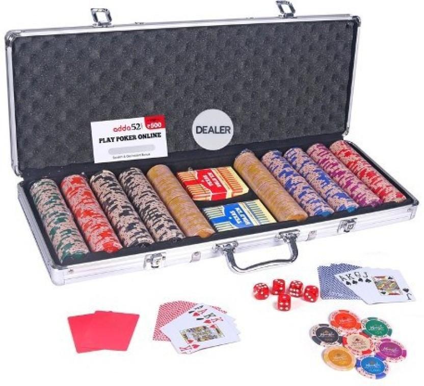 Poker chip set flipkart regles du jeu poker classique