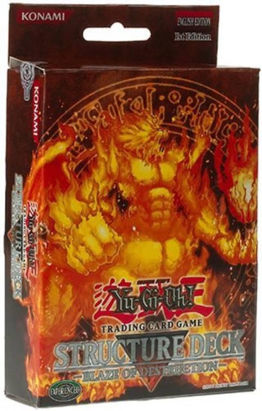 Yu-Gi-Oh! Yugioh Blaze Of Destruction 1St Edition Structure