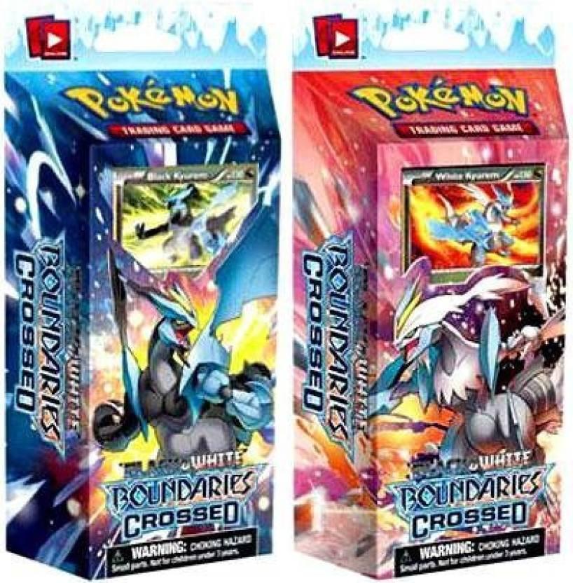 Pokemon S Bw Boundaries Crossed Theme Decks Set Of 2 (Cold