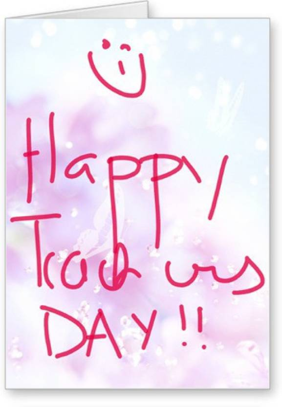 Lolprint Happy Teachers Day Greeting Card Price in India