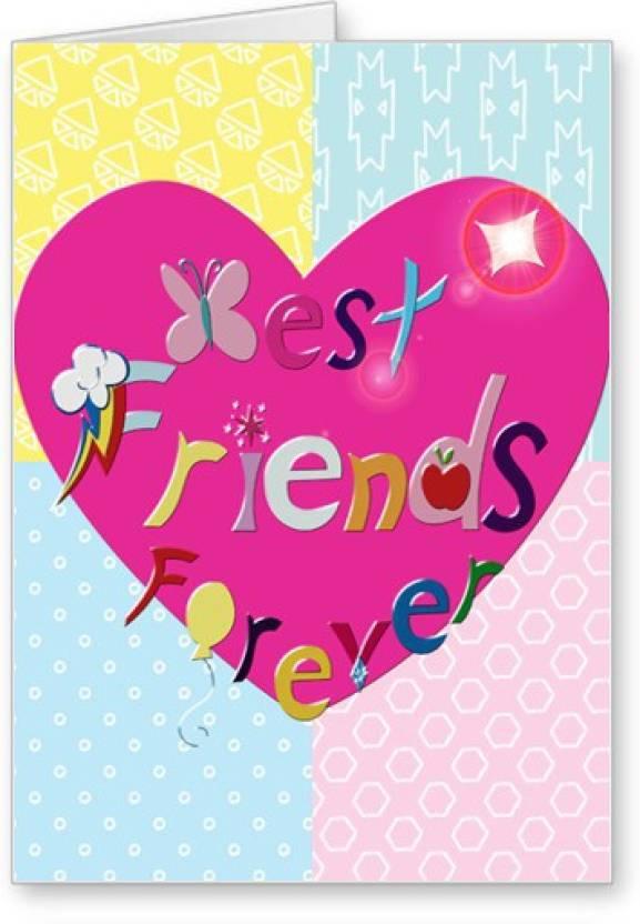 Lolprint best friends forever friendship day greeting card price in lolprint best friends forever friendship day greeting card m4hsunfo