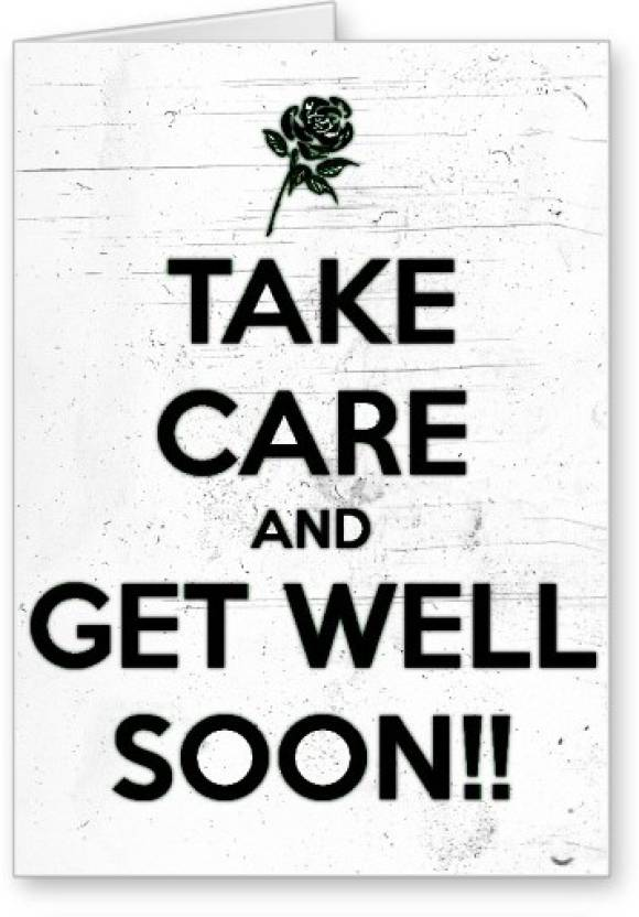 Lolprint Take Care And Get Well Soon Greeting Card Price In India