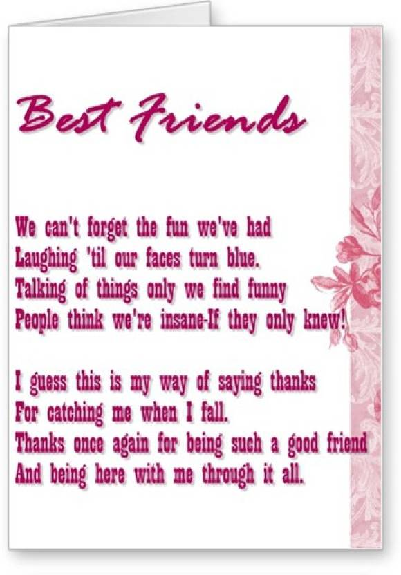 Lolprint best friends friendship day greeting card price in india lolprint best friends friendship day greeting card m4hsunfo