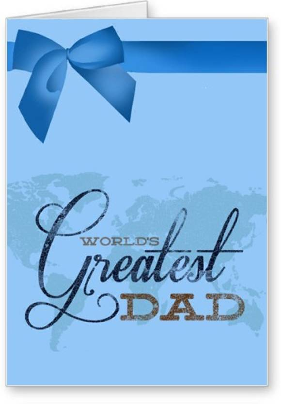 Lolprint Happy Birthday Worlds Greatest Dad Greeting Card Price In